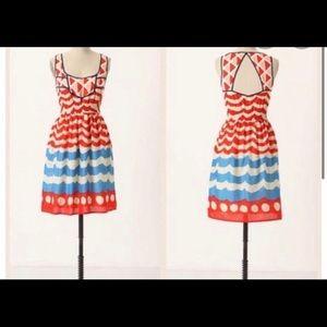Anthropologie- We Love Vera -Summer dress